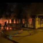 Изгоре ковид центарот во Тетово, најмалку 10 жртви
